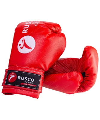 Набор для бокса детский Rusco, 4oz, к/з, текстиль